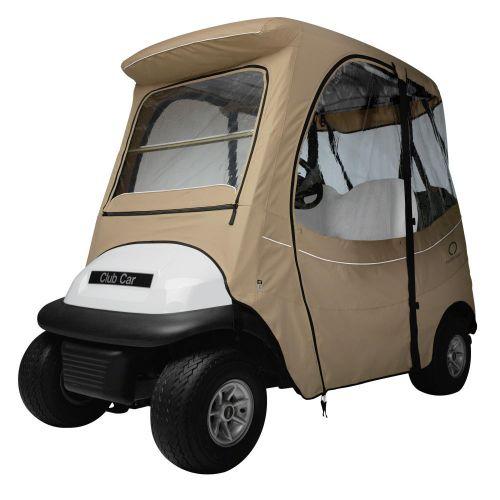 Fairway Short Roof 2-Person FadeSafe Club Car Precedent Golf Cart Enclosure