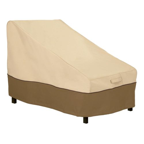 Veranda Water-Resistant 28 Inch Patio Deep Armless Chair/Sectional Cover