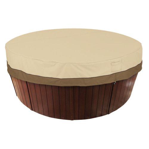 Veranda Water-Resistant 84 Inch Round Hot Tub Cover