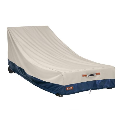 Mainland Water-Resistant 86 Inch Patio Day Chaise Cover