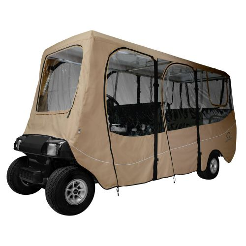 Fairway Extra Long Roof 6-Person Deluxe Golf Cart Enclosure
