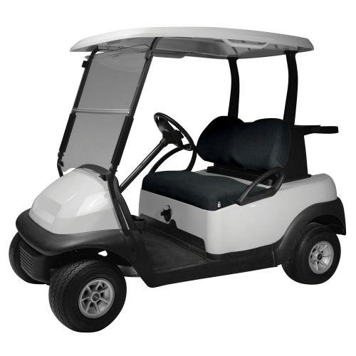 Fairway Terry Cloth Golf Cart Seat Cover, Black