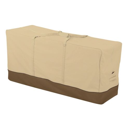 Veranda Water-Resistant 60 Inch Patio Cushion and Cover Storage Bag