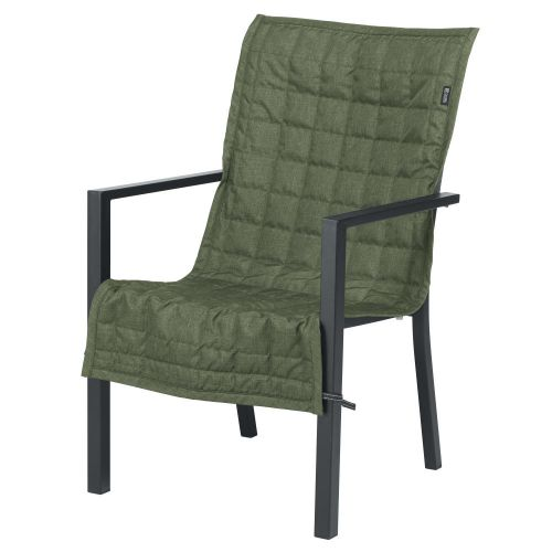 Montlake FadeSafe Water-Resistant 45 Inch Patio Chair Slipcover, Heather Fern