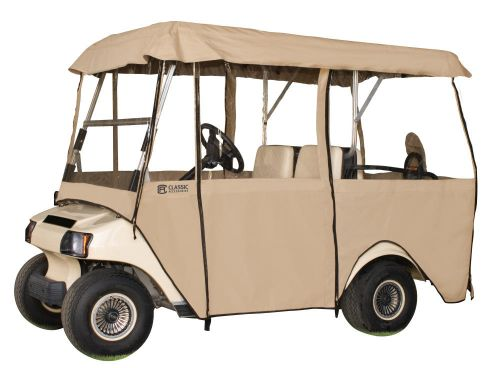 Fairway 4-Person Deluxe 4-Sided Golf Cart Enclosure, 94 x 47 Inch