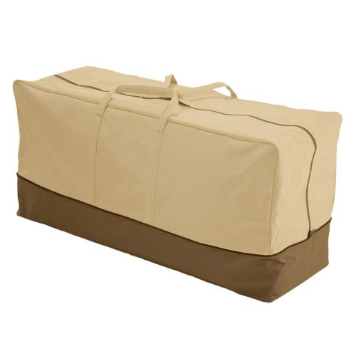 Veranda Water-Resistant 45.5 Inch Patio Cushion and Cover Storage Bag