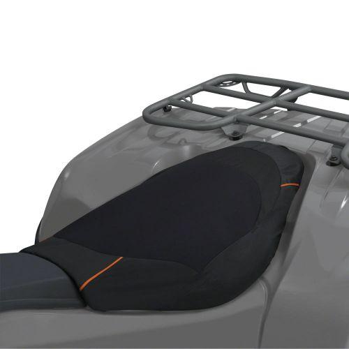 QuadGear ATV Deluxe Seat Cover, Black/Grey