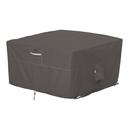 Ravenna Water-Resistant 42 Inch Square Fire Pit Table Cover