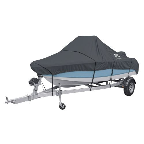 StormPro Heavy-Duty Center Console Boat Cover, Fits boats 16 - 18.5 ft long x 98 in wide