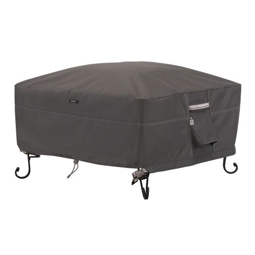 Ravenna Water-Resistant Square Fire Pit Cover