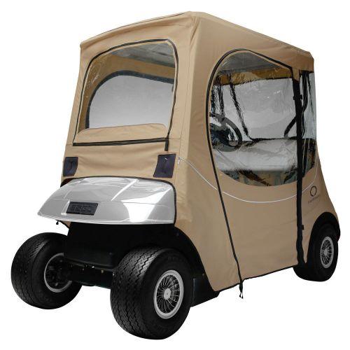 Fairway Short Roof 2-Person FadeSafe E-Z-Go Golf Cart Enclosure