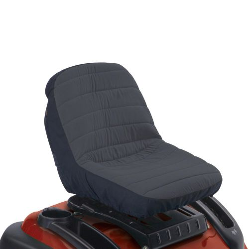 """Deluxe Tractor Seat Cover, Fits Seats 12.5""""  - 14"""" H, Medium"""