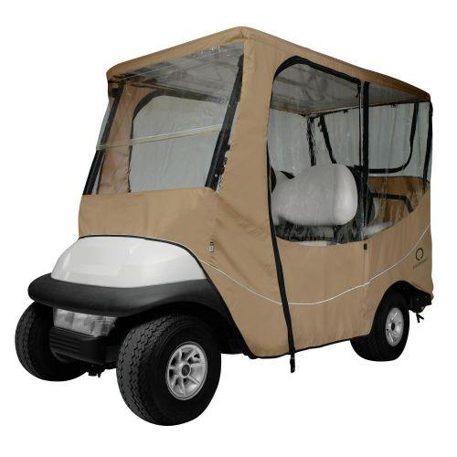 Fairway Long Roof 4-Person Travel Golf Cart Enclosure