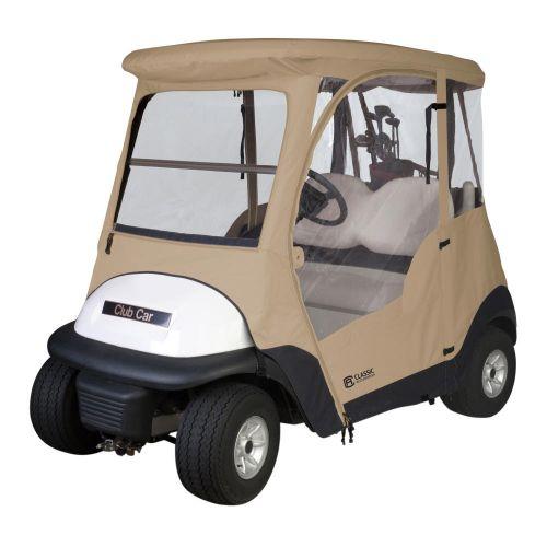 Fairway 2-Person Club Car Precedent Golf Cart Enclosure
