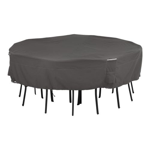Ravenna Water-Resistant 86 Inch Square Patio Table & Chair Set Cover
