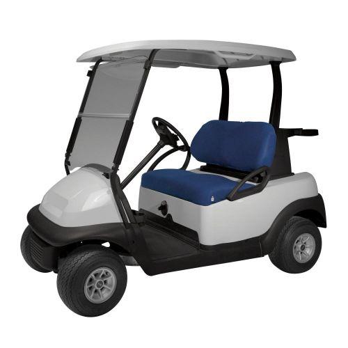 Fairway Diamond Air Mesh Golf Cart Seat Cover, Navy News