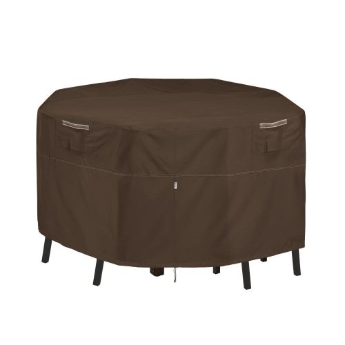 Madrona Waterproof 66 Inch Square Patio Bar Table & Chair Cover