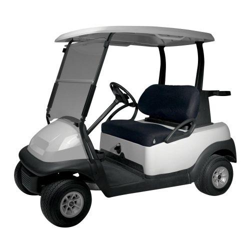 Fairway Diamond Air Mesh Golf Cart Seat Cover, Black