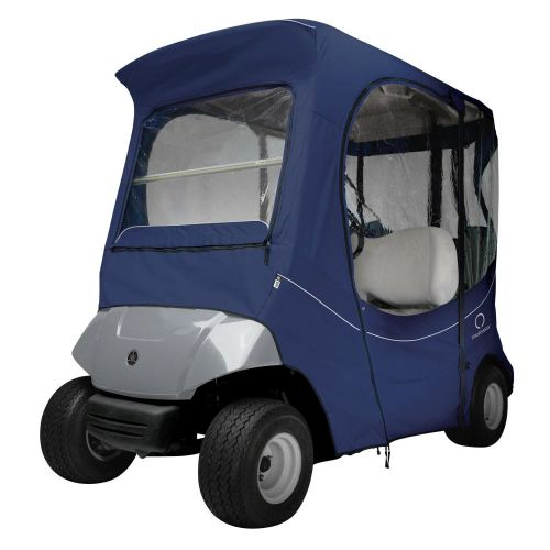 Fairway Short Roof 2-Person FadeSafe The Drive by Yamaha Golf Cart Enclosure, Navy News