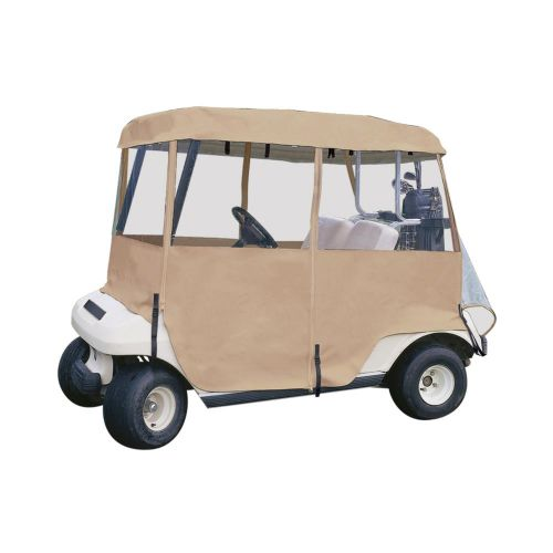 Fairway 2-Person Deluxe 4-Sided Golf Cart Enclosure