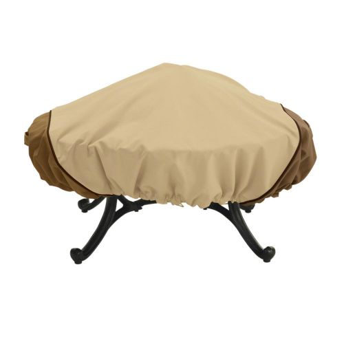 Veranda Water-Resistant Round Fire Pit Cover
