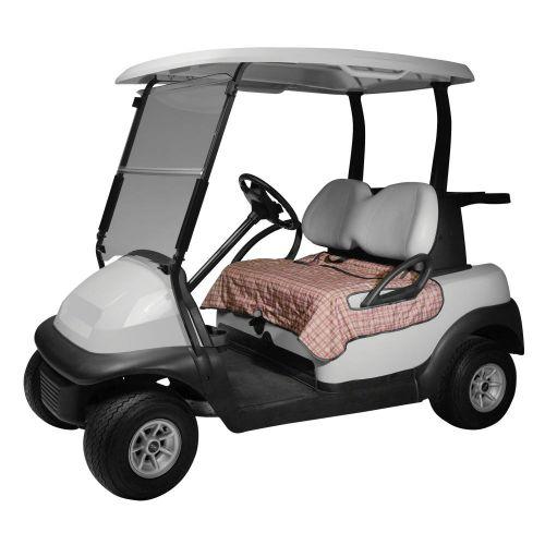 Fairway Golf Cart Seat Blanket, Heritage Plaid