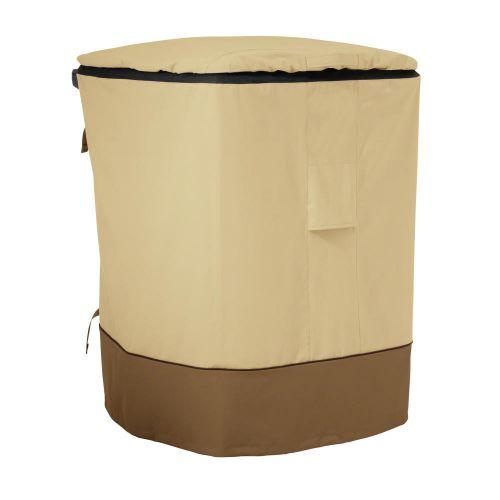 Veranda Water-Resistant 96 Gallon Outdoor Trash Cart Cover