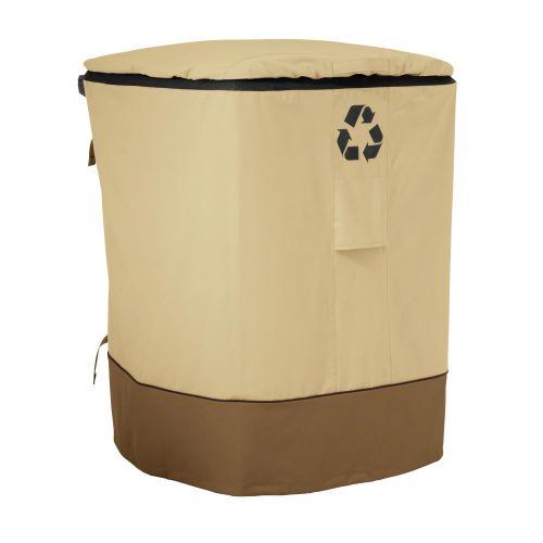 Veranda Water-Resistant Outdoor Trash Cart Cover