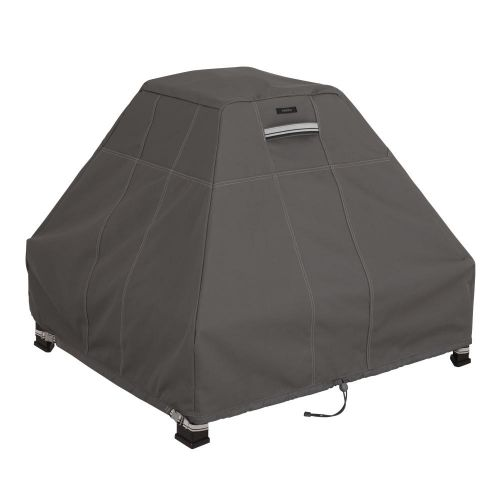Ravenna Water-Resistant 33.5 Inch Stand-Up Fire Pit Cover