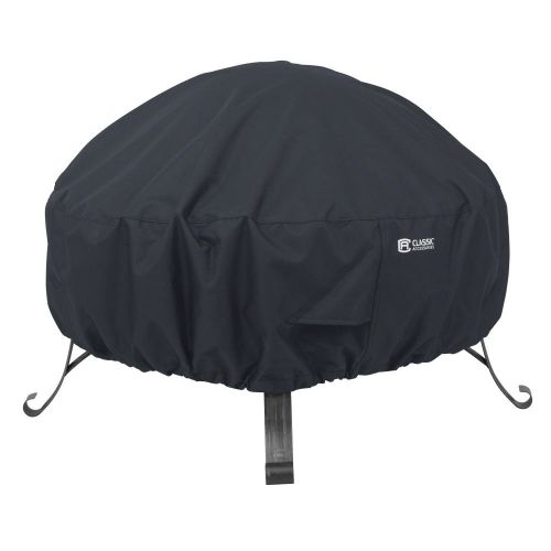 Water-Resistant Round Fire Pit Cover