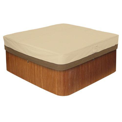 Veranda Water-Resistant Square Hot Tub Cover