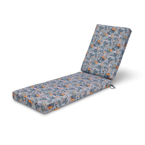 Vera Bradley by Classic Accessories  Water-Resistant Patio Chaise Lounge Cushion