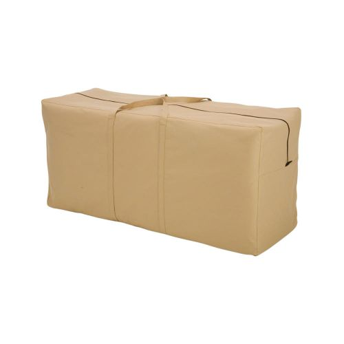 Terrazzo Water-Resistant Patio Cushion and Cover Storage Bag