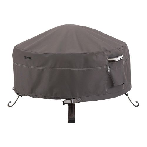 Ravenna Water-Resistant Full Coverage Round Fire Pit Cover
