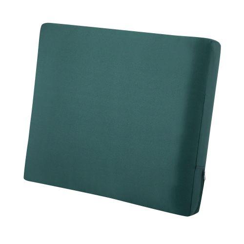 Ravenna Water-Resistant Patio Lounge Chair/Loveseat Back Cushion, 23 x 20 x 4 Inch, Mallard Green