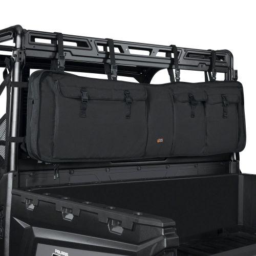 QuadGear UTV Double Gun Carrier, Black
