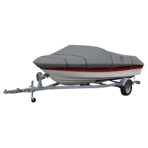 """Lunex RS-1 Boat Cover, Fits Boats 16' - 18.5' L x 98""""  W, Trailerable Boat Cover with All-Weather Ripstop Fabric, Model C"""