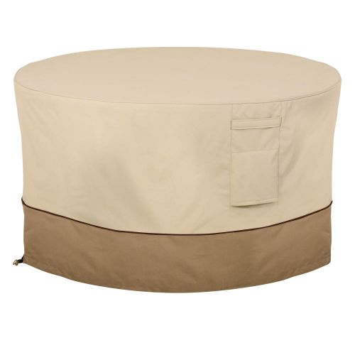 Veranda Water-Resistant 42 Inch Round Fire Pit Table Cover