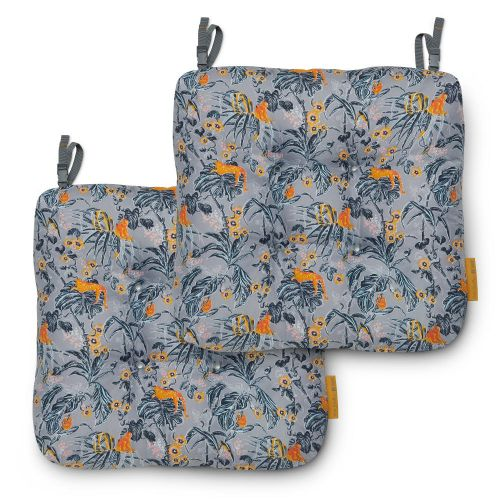 Vera Bradley by Classic Accessories  Water-Resistant Patio Chair Cushions