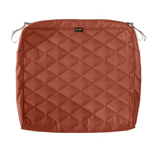 Montlake FadeSafe Water-Resistant Patio Quilted Seat Cushion Cover