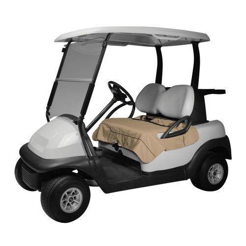 Fairway Golf Cart Seat Blanket, Light Khaki