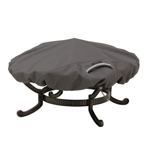 Ravenna Water-Resistant Round Fire Pit Cover