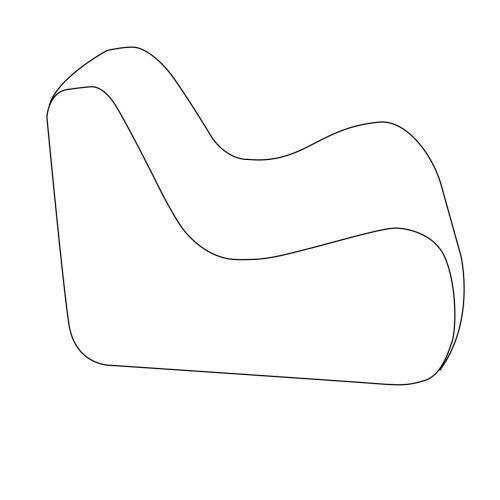 Montlake Frameless Indoor/Outdoor Bean Bag Chair Liner