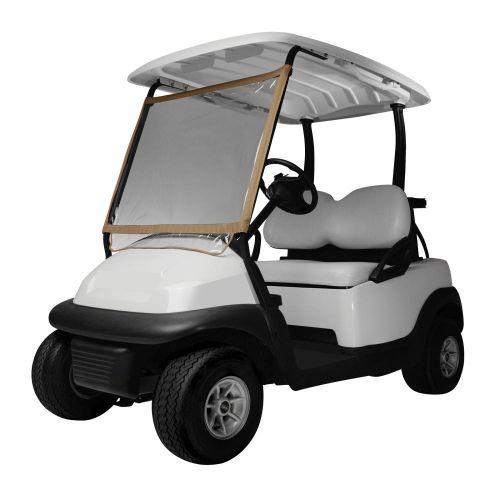 Fairway Deluxe Portable Golf Cart Windshield