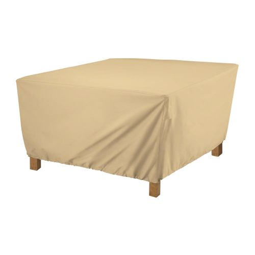 Terrazzo Water-Resistant 21 Inch Square Ottoman/Coffee Table Cover