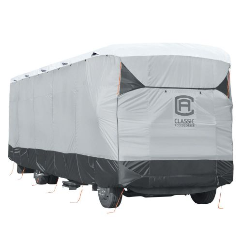 """Over Drive SkyShield Deluxe Water-Repellent Class A RV Cover, Fits 24' - 28'L x 125"""" H, Model 3T"""