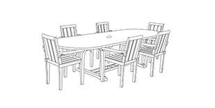 Custom Rectangular Table Set Covers